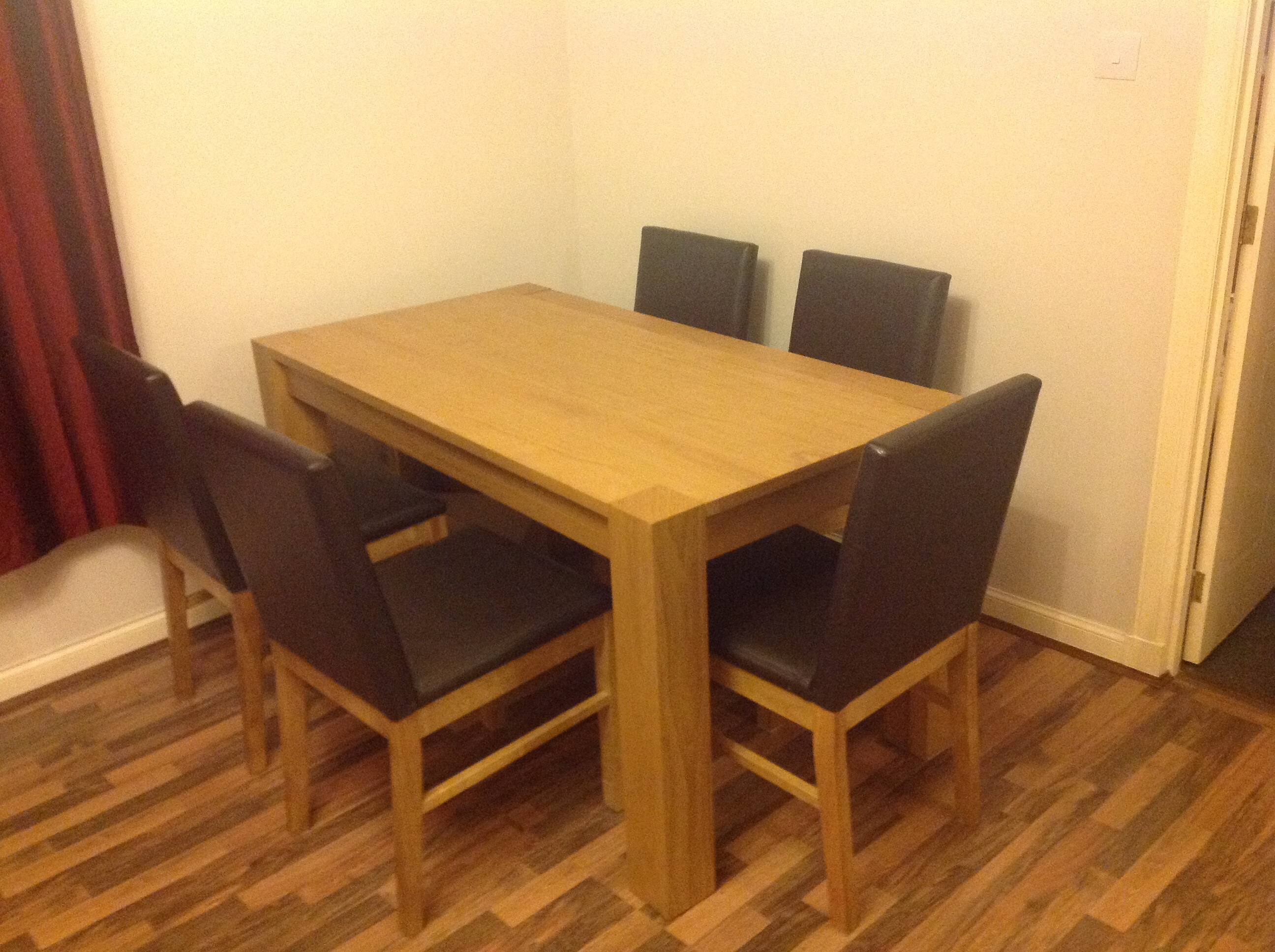 debenhams dining table and chairs. Black Bedroom Furniture Sets. Home Design Ideas