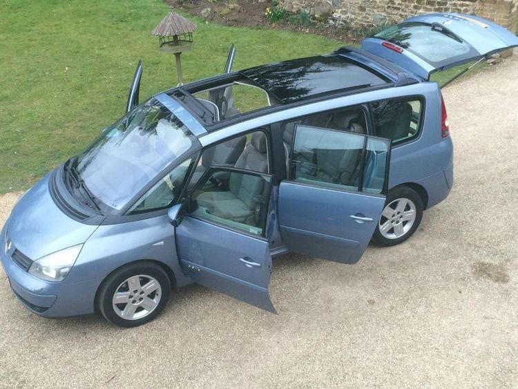 renault espace 4 180 bhp 5dr panoramic sunroof remapped for better fuel economy. Black Bedroom Furniture Sets. Home Design Ideas