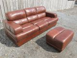 Brown Leather Sofas and Seats